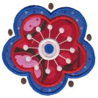 Fabulous Flowers Applique