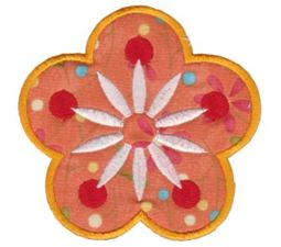 Fabulous Flowers Applique 1