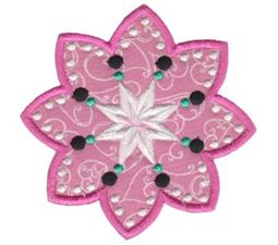 Fabulous Flowers Applique 14