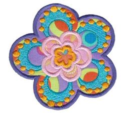 Fabulous Flowers Applique 15