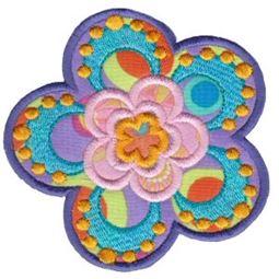 Fabulous Flowers Applique 15