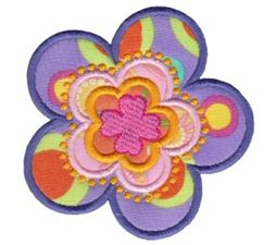 Fabulous Flowers Applique 16