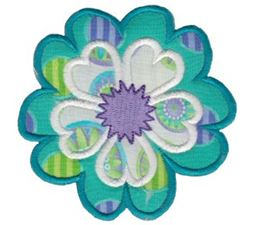 Fabulous Flowers Applique 17