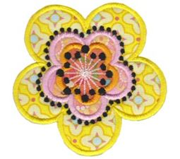 Fabulous Flowers Applique 18