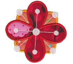 Fabulous Flowers Applique 5