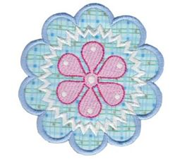 Fabulous Flowers Applique 6
