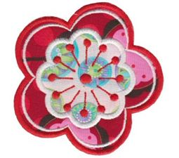 Fabulous Flowers Applique 9