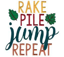 Rake Pile Jump Repeat