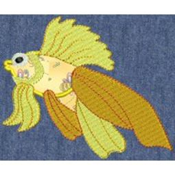Fishies Applique 6