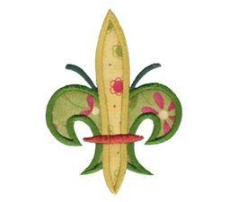 Fleur De Lis Applique 1