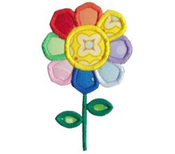 Flower Power Applique 11