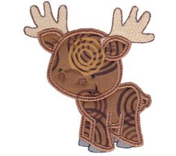Forest Animals Applique 12