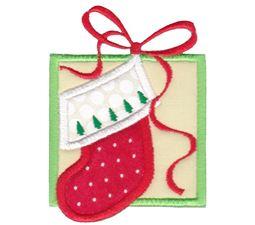 Christmas Stocking Applique