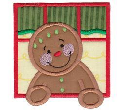 Gingerbread Applique