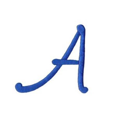 Freehand Alphabet Capital A