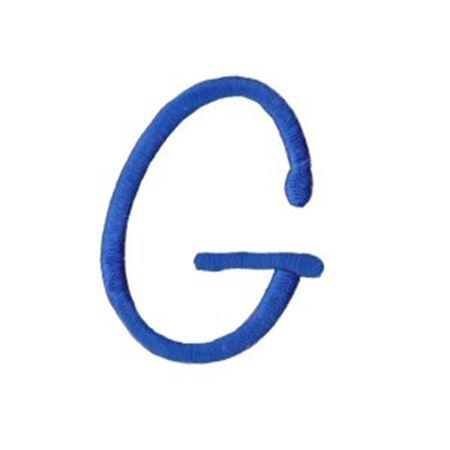 Freehand Alphabet Capital G