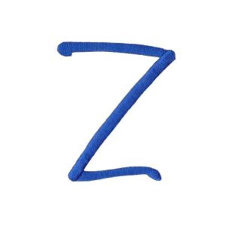 Freehand Alphabet Capital Z