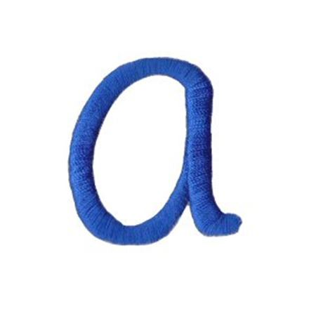 Freehand Alphabet Lower Case a