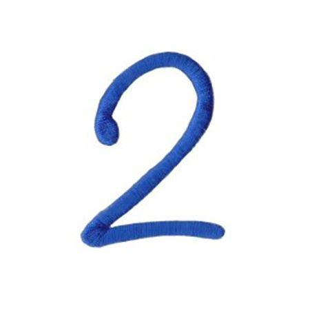 Freehand Alphabet Number 2