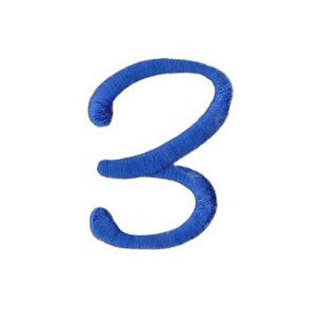 Freehand Alphabet Number 3