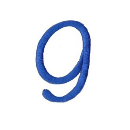 Freehand Alphabet Number 9