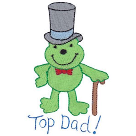 Top Dad Frog