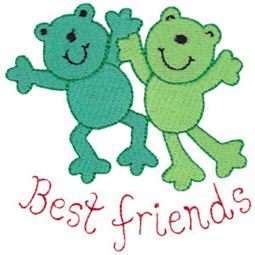 Best Friends Frogs
