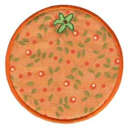 Orange Applique