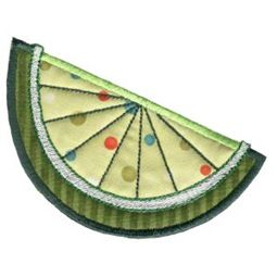 Slice of Lime Applique