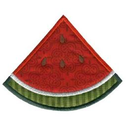 Slice of Watermelon Applique