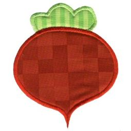 Radish Applique