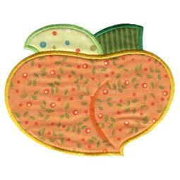 Peach Applique