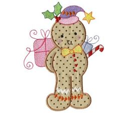 Gingerbreads Applique 2