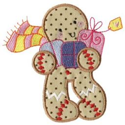 Gingerbreads Applique 3