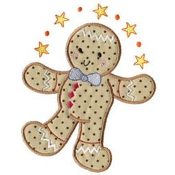 Gingerbreads Applique 4