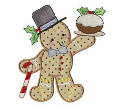 Gingerbreads Applique 6
