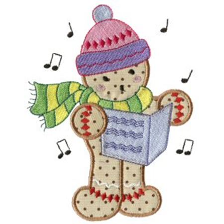 Gingerbreads Applique 9