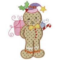 Gingerbreads Applique