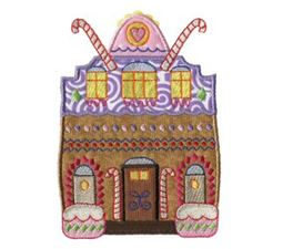 Gingerbread Village Applique 12
