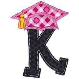 Graduation Alphabet Applique 11