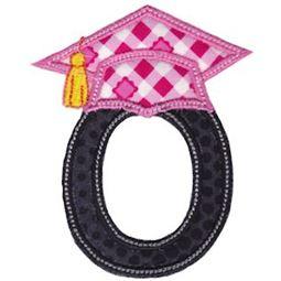Graduation Alphabet Applique 15