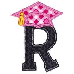 Graduation Alphabet Applique 18