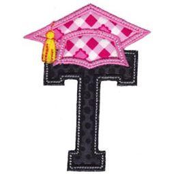 Graduation Alphabet Applique 20