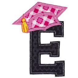 Graduation Alphabet Applique 5
