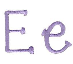 Grandmas Garden Alphabet E