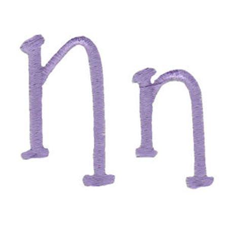 Grandmas Garden Alphabet N