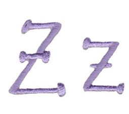 Grandmas Garden Alphabet Z