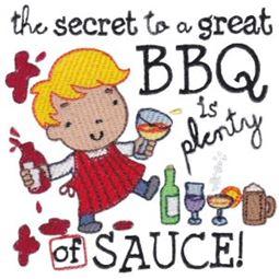 Secret To  Great BBQ Is Plenty of Sauce