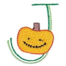 Halloween Doodle Letters J