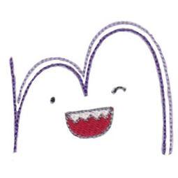 Halloween Doodle Letters M
